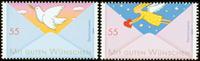 Tyskland - Posten 2010 - Postfrisk sæt 2v