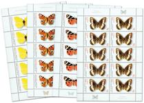 Tyskland - Sommerfugle - Postfrisk arksæt