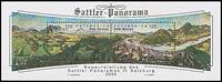 Austria - Sattler Panorama - Cancelled souvenir sheet