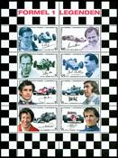 Østrig - Formel 1 Legender - Postfrisk ark
