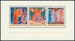 Østrig - Rosenkranz - Postfrisk miniark