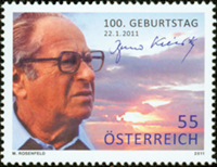 Austria - Bruno Kreisky - Mint stamp