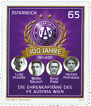 Østrig - 100 år Austria Wien - Postfrisk frimærke