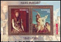 Østrig - Hans Makart - Postfrisk miniark