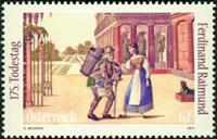 Austria - 175 years F.Raimund - Mint