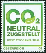 Østrig - CO2 neutralt postvæsen - Postfrisk frimærke