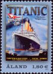 Åland - Titanic - Postfrisk frimærke