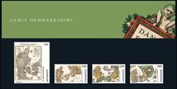 Danmark Gl. Danmarkskort PP - Souvenirmapper