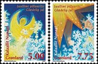 Grønland - Jul 2007 - Postfrisk sæt 2v