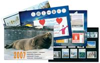 Grønland - Årsmappe 2007 - inkl. pakkeporto - Årsmappe