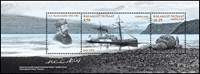 Grønland - Ekspeditioner VI - Postfrisk miniark