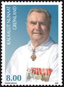 Grønland - Prins Henrik 75 år - Postfrisk frimærke