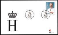 Grønland - Prins Henrik 75 år - Førstedagskuvert
