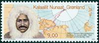 Grønland - Matthew Henson - Postfrisk frimærke