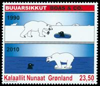 Grønland - Tegneserier II - Postfrisk frimærke