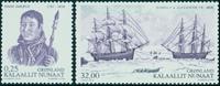 Grønland - Ekspeditioner - Postfrisk sæt 2v
