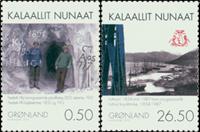 Grønland - Minedrift I - Postfrisk sæt 2v