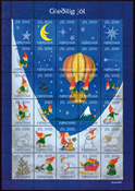 Faroe Islands - Christmas seals 2009 - Christmas Seal Sheet