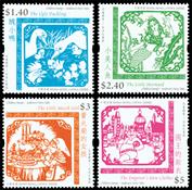 Hong Kong - H.C. Andersen - Postfrisk sæt 4v