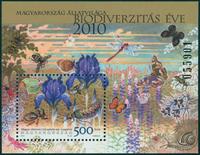 Ungarn - Biodiversitet - Postfrisk miniark