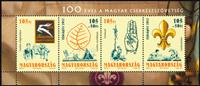 Hungary - Scouts - Mint souvenir sheet
