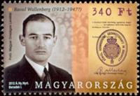 Ungarn - Raoul Wallenberg - Postfrisk frimærke