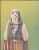 Kosovo - Traditionelle beklædningsgenstande - Postfrisk miniark