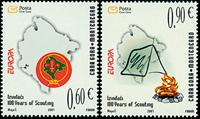 Montenegro - Europa 2007 - Postfrisk sæt 2v