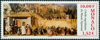 Monaco - Nationalmuseum - Postfrisk frimærke