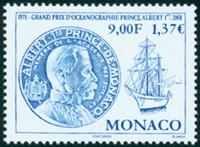 Monaco - Havforskningsmuseum - Postfrisk frimærke