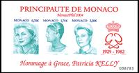 Monaco - Fyrstinde Grace - Postfrisk utakket miniark