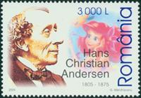 Rumænien - H.C. Andersen - Postfrisk frimærke