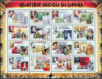 San Marino - Opera and musicals - Mint S/S
