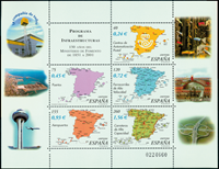 Spanien - Offentlige virksomheder - Postfrisk miniark