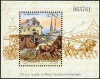 Hungary - Stamp day - Mint souvenir sheet