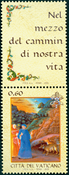 Vatican - Italian language day - Mint stamp