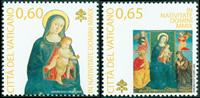 Vaticaan - Kerstzegels 2009 - Postfrisse serie van 2