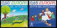Vatikanet - Europa 2010 * - Postfrisk sæt 2v