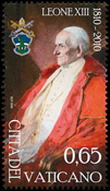 Vatican - Pope Leo XIII - Mint stamp