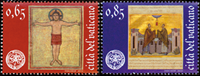 Vatican  Reopening of the library - Mint set 2v