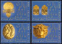 Vatikanet - Museet for etruskisk kunst - Postfrisk sæt 4v