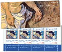 Vatikanet - Van Gogh - Postfrisk frimærkehæfte