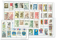 800 stamps from Czechoslovakia