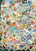 Ungarn - Frimærkepakke - 1500 forskellige - Stemplet