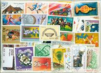 Ungarn - Frimærkepakke - 800 forskellige