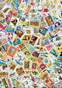 Romania - Stamp packet - 485 different large