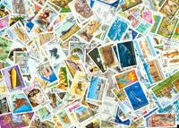 Ex-Russian states 288 different stamps
