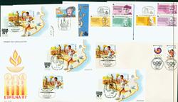 Spanien 5 kuverter