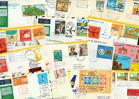 Lufthansa 49 first flight envelopes
