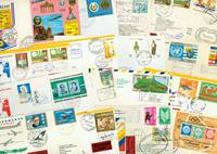 Lufthansa 43 first flight envelopes